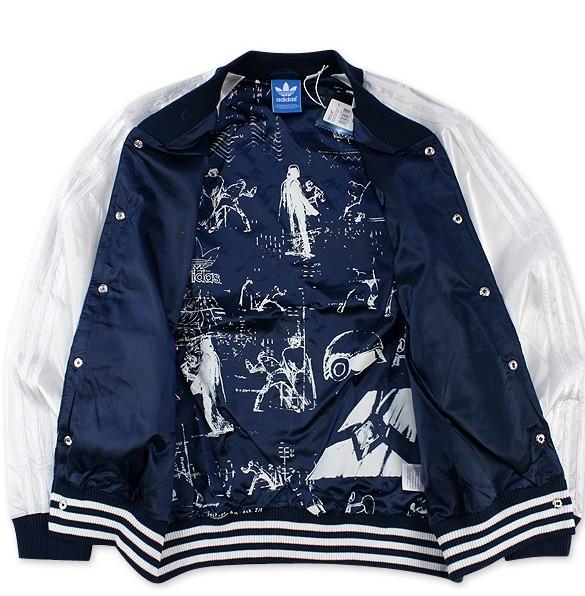 Plasticidad Seducir cerca  Original Adidas NWT Mens V33840 Star Wars Jacket Satin Jacket Dark Indigo  Track Adidas Silk Embroidery_Adidas Mens_Original Adidas Prodcuts