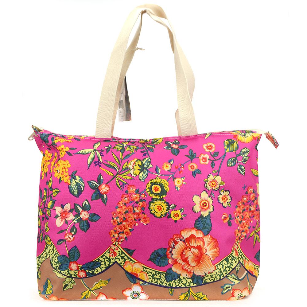 cheaper 3035f 14155 Adidas Originals Farm Jardineto Shopper Beach Carry Bag AJ8703 Brazil Farm  Floral Handbag