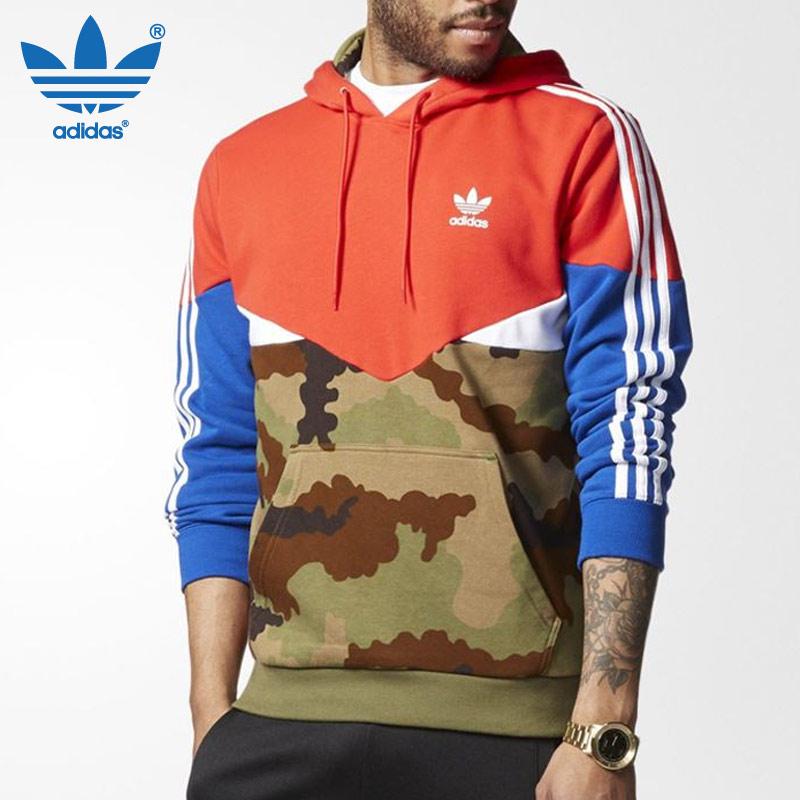 Original Adidas Camo Pack Hoodie AY8106 ES OTH Multicolor